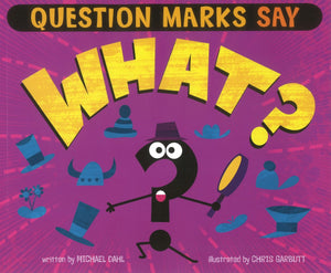 "Question Marks Say ""What?"" </br>Item: 840565"