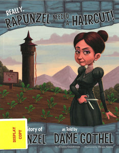 Really, Rapunzel Needed a Haircut! DISPLAY COPY