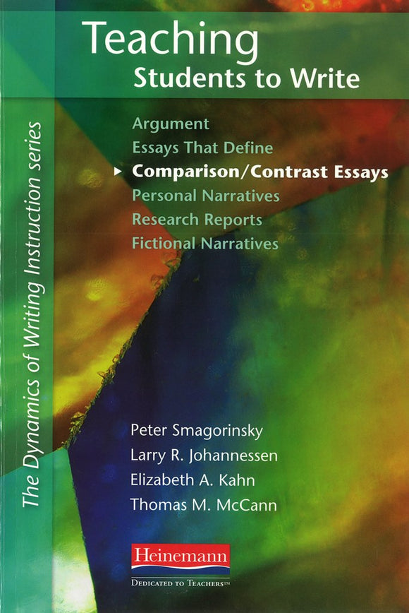 Teaching Students to Write Comparison/Contrast Essays </br>Item: 33983