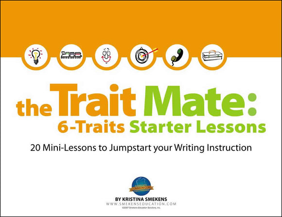 The Trait Mate: 6-Traits Starter Lessons Digital Edition, Item: 502