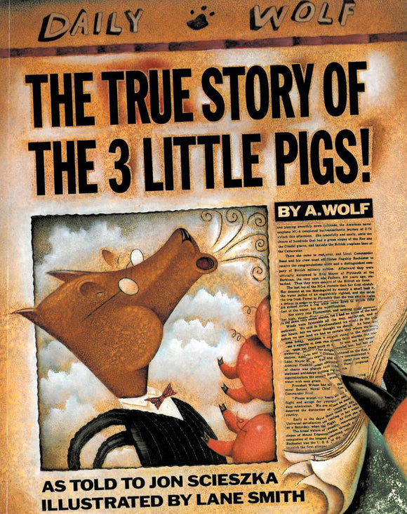 The True Story of the 3 Little Pigs </br> Item: 7999