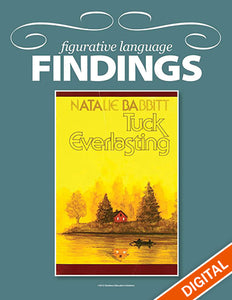 Figurative Language Findings: Tuck Everlasting, Item: 523