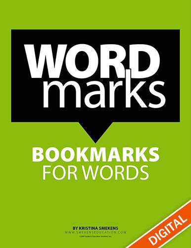WordMarks: Bookmarks for Words, Item: 539