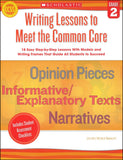 Writing Lessons to Meet the Common Core
