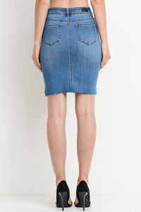 Brunch Denim Skirt
