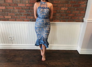 Nesa High Low Dress