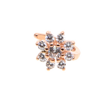 Load image into Gallery viewer, Rose Gold Flower Ear Cuff