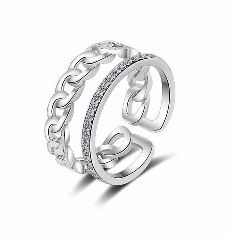 Resizeable Chain Link Ring