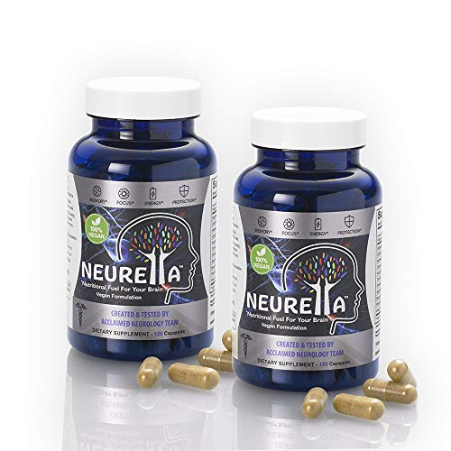 Special Offer - Neurella Vegan Extra Strength Nootropic Supplement 2 Bottles for Only $75.00