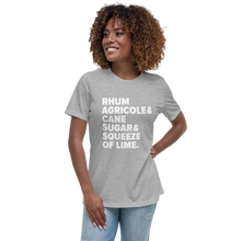Load image into Gallery viewer, Ti' Punch Recipe Women's Relaxed T-Shirt