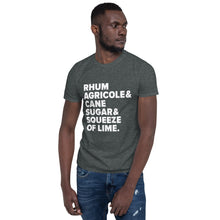 Load image into Gallery viewer, Ti' Punch Recipe Short-Sleeve Unisex T-Shirt