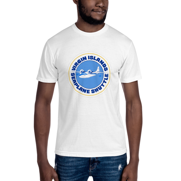 Virgin Islands Seaplane Shuttle Unisex Crew Neck T-Shirt