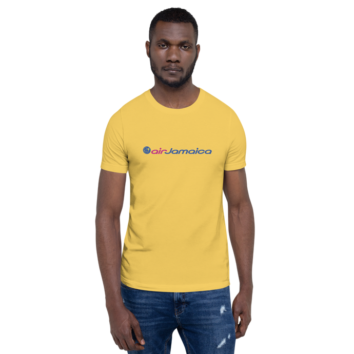 Air Jamaica Unisex Crew Neck T-Shirt (Yellow)