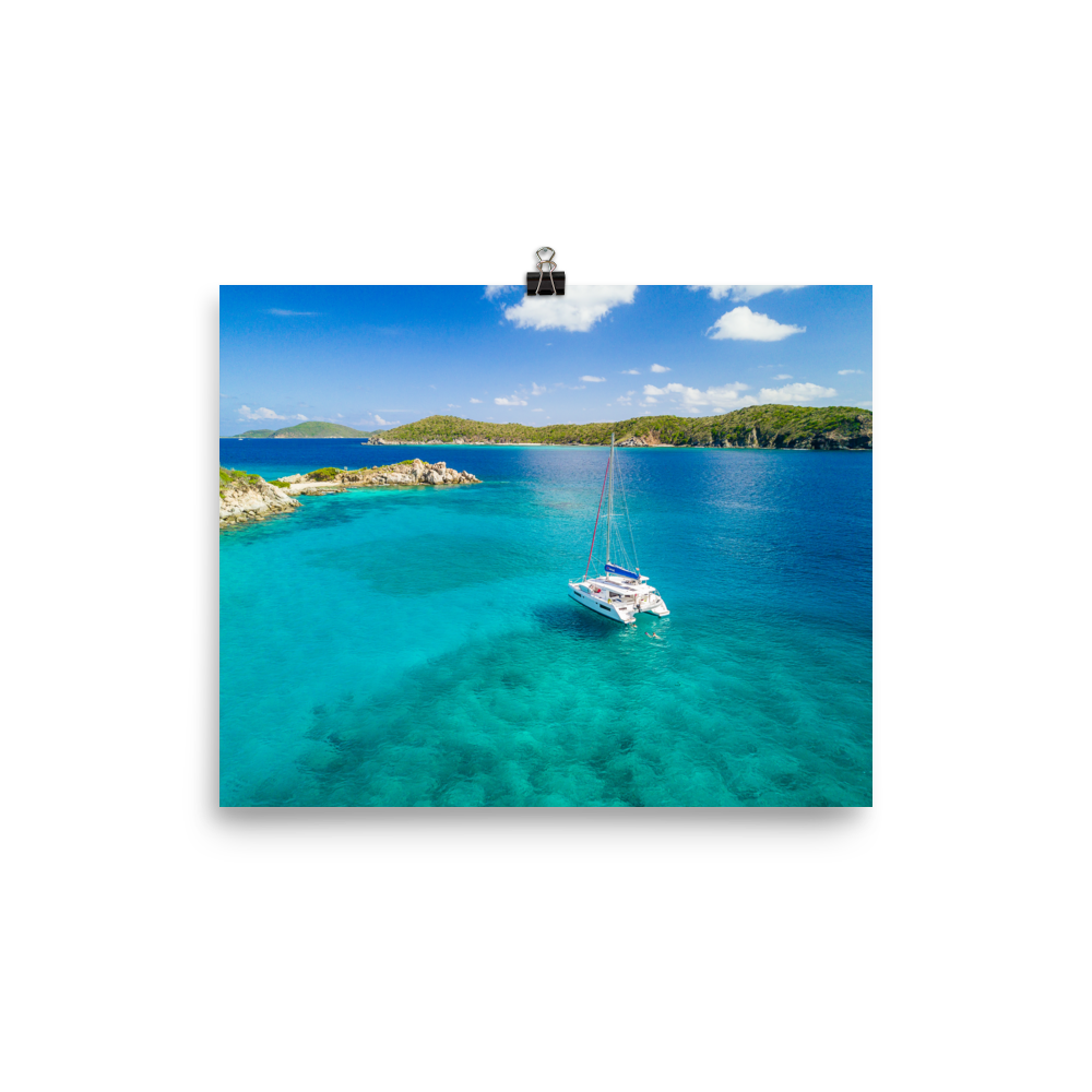 British Virgin Islands Sailing Print