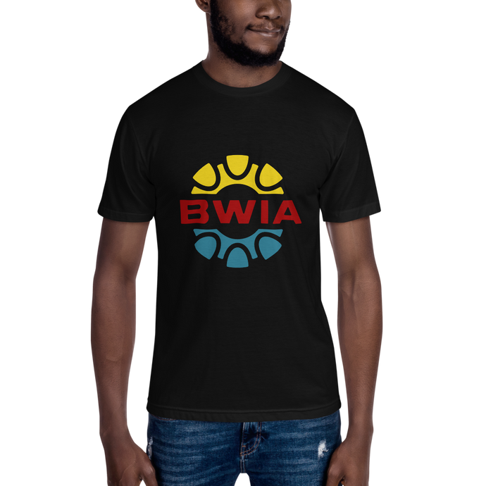 BWIA (British West Indian Airways) Unisex Crew Neck T-Shirt