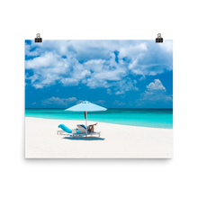 Load image into Gallery viewer, Anguilla Beach Day Print