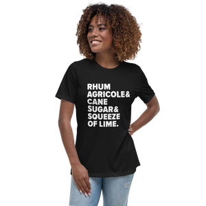 Ti' Punch Recipe Women's Relaxed T-Shirt