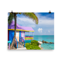 Load image into Gallery viewer, Colorful Compass Point Print