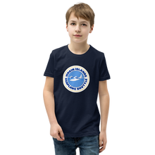 Load image into Gallery viewer, Virgin Islands Seaplane Shuttle Unisex Youth Crew Neck T-Shirt