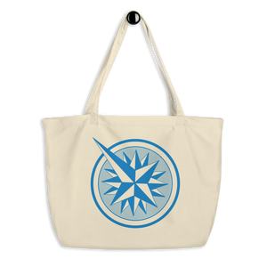 Uncommon Caribbean large organic tote beach bag