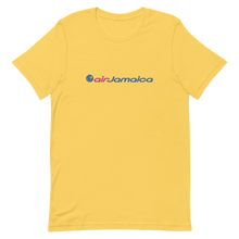 Load image into Gallery viewer, Air Jamaica Unisex Crew Neck T-Shirt (Yellow)
