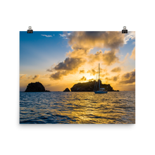 Load image into Gallery viewer, St. Barths Sunset Print