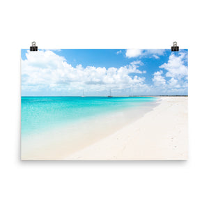 Princess Diana Beach Print