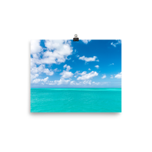 Load image into Gallery viewer, Turks and Caicos Blue Print