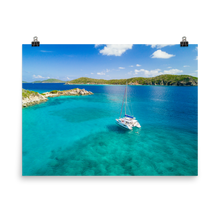 Load image into Gallery viewer, British Virgin Islands Sailing Print