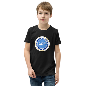 Virgin Islands Seaplane Shuttle Unisex Youth Crew Neck T-Shirt