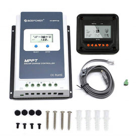 Midas 40A MPPT Solar Charge Controller with Remote Meter