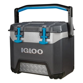 Igloo 25 QT Cooler Gray Holds ice 4 days at 90°F*