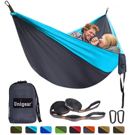 Double/Single Portable Hammock Set