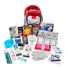 ReadyGear 1 Person 5 Day Essentials Emergency Kit - First Aid, Water, Tent, Sleeping Bag, Hygiene Kit and More Survival Tools for Hurricane, Earthquake, Winter, and other Disaster Relief
