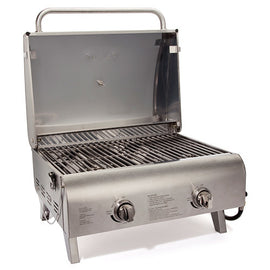 20,000 BTU Stainless Tabletop Gas Grill