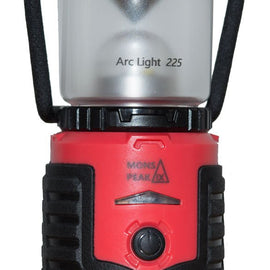 Arc Light 225 Lumens LED Lantern Powered by USB rechargeable 3400mAh battery
