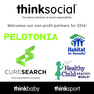 Thinkbaby Thinksport Introduce 2016 Roster of Annual ThinkSocial Partners