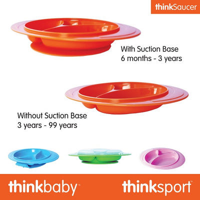 Thinkbaby releases ThinkSaucer, a suction plate that lasts