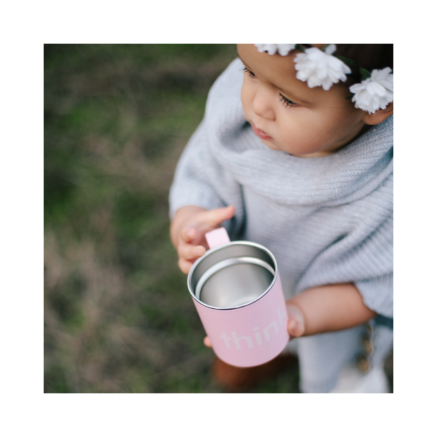 BPA Free Think Cup - Pink