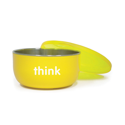 BPA Free Cereal / Soup Bowl - Yellow