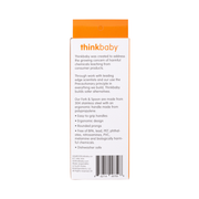 Thinkbaby Fork and Spoon Set - Orange