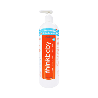 Thinkbaby Shampoo & Body Wash (16oz) - Back In Stock 8/31