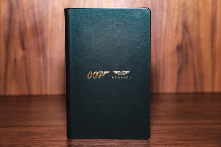 Aston Martin Soft Touch Note Book 007