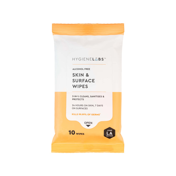 Hygiene Labs Skin & Surface Wipes
