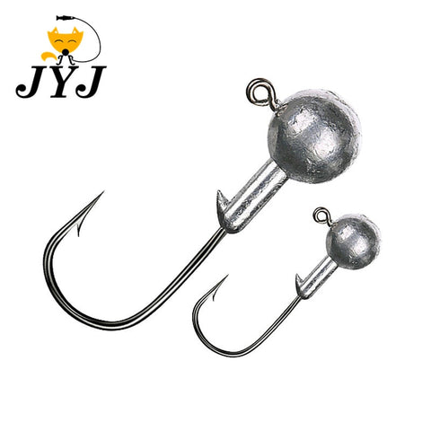 1g 2g 3g 4g 5g 10g 20g 22g 25g 28g crank Jig head hook fishing hook lead head Jig lure hard bait soft worm jig hook for fishing