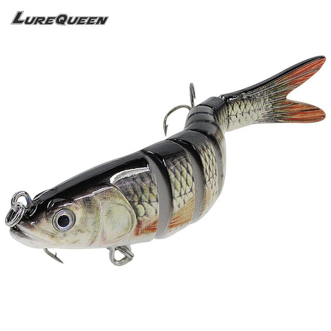 13cm 26g Sinking Wobblers 8 Segments Fishing Lures Multi Jointed Swimbait Fishing Tackle For Bass