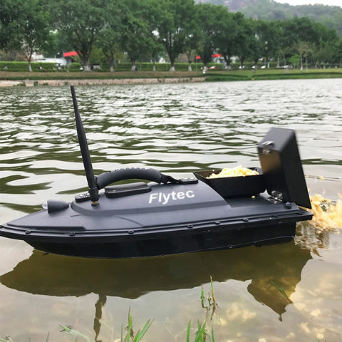 Fishing Tool Smart Bait boat Digital Automatic Frequency Modulation Remote Radio Control Device Fishing Bait Thrower Boat