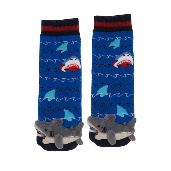 Messy Moose Socks, Shark