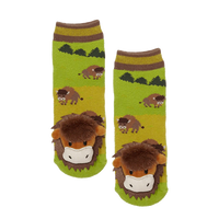 Messy Moose Socks, Bison