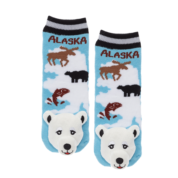 Messy Moose Socks, Alaska